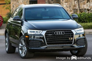 Insurance rates Audi Q3 in Raleigh