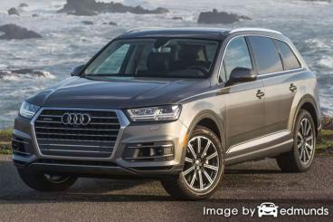 Insurance rates Audi Q7 in Raleigh