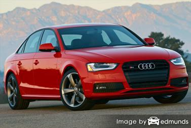 Insurance quote for Audi S4 in Raleigh
