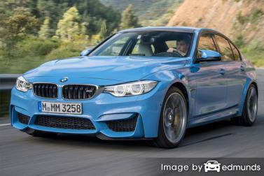 Insurance rates BMW M3 in Raleigh