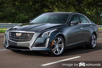 Insurance rates Cadillac CTS in Raleigh