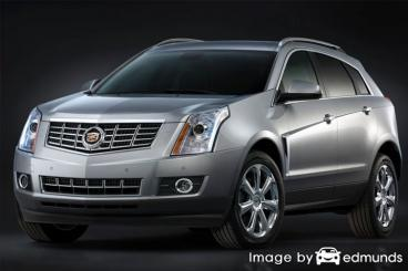 Insurance quote for Cadillac SRX in Raleigh
