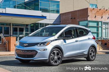 Insurance quote for Chevy Bolt EV in Raleigh