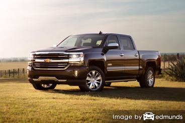 Discount Chevy Silverado insurance