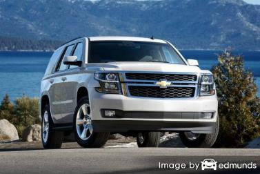 Insurance rates Chevy Tahoe in Raleigh