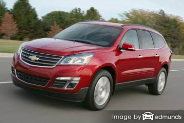 Insurance rates Chevy Traverse in Raleigh
