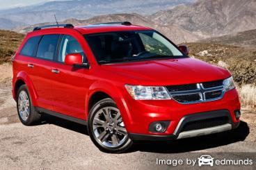 Insurance quote for Dodge Journey in Raleigh