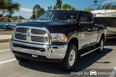Insurance rates Dodge Ram 3500 in Raleigh