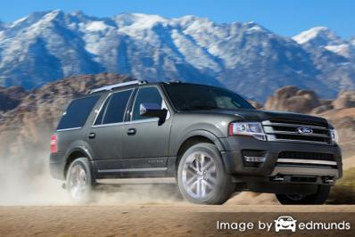 Insurance quote for Ford Expedition in Raleigh
