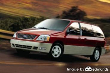 Insurance rates Ford Freestar in Raleigh