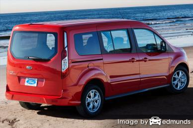 Insurance quote for Ford Transit Connect in Raleigh