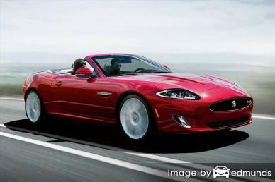 Insurance rates Jaguar XK in Raleigh
