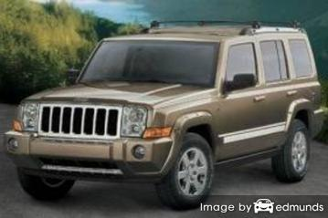 Discount Jeep Commander insurance
