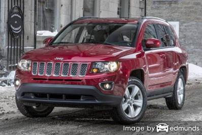 Insurance quote for Jeep Compass in Raleigh