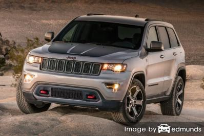 Insurance quote for Jeep Grand Cherokee in Raleigh