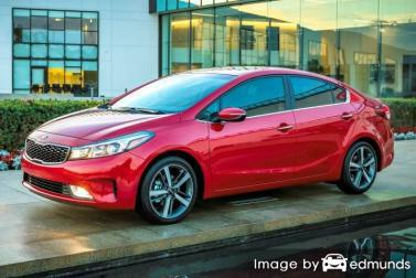Insurance rates Kia Forte in Raleigh