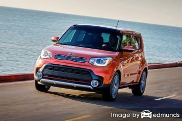 Insurance rates Kia Soul in Raleigh
