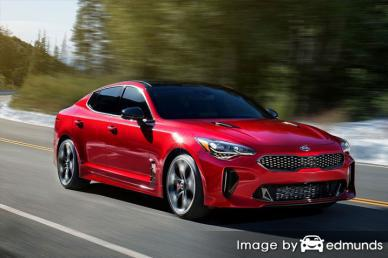 Insurance rates Kia Stinger in Raleigh