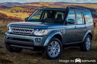 Insurance rates Land Rover LR4 in Raleigh