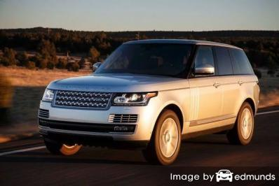 Insurance rates Land Rover Range Rover in Raleigh