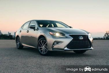 Insurance quote for Lexus ES 350 in Raleigh