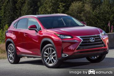 Insurance quote for Lexus NX 300h in Raleigh