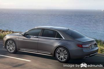 Insurance quote for Lincoln Continental in Raleigh