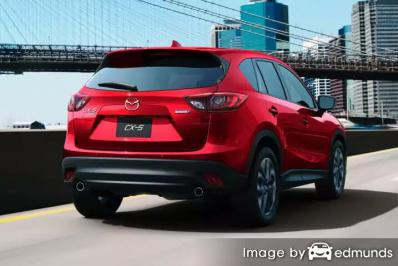 Insurance quote for Mazda CX-5 in Raleigh