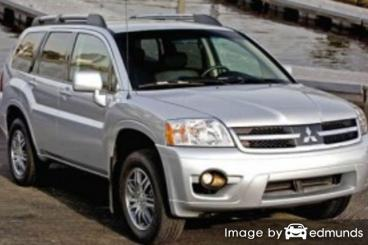 Insurance rates Mitsubishi Endeavor in Raleigh