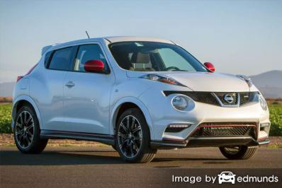 Insurance quote for Nissan Juke in Raleigh