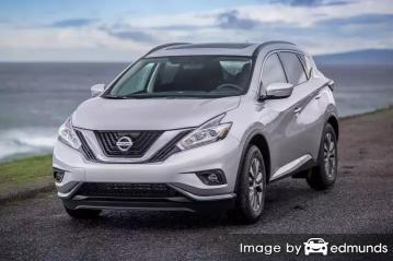 Insurance rates Nissan Murano in Raleigh