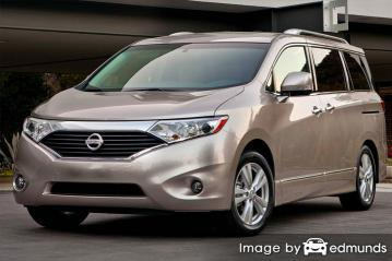 Insurance rates Nissan Quest in Raleigh