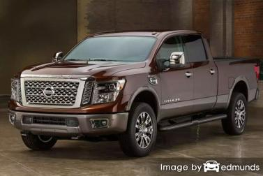 Insurance rates Nissan Titan XD in Raleigh