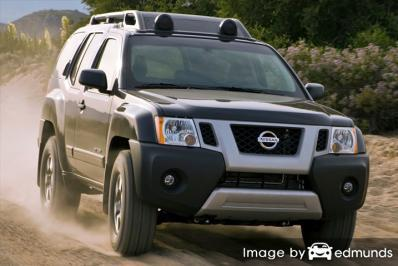 Insurance quote for Nissan Xterra in Raleigh
