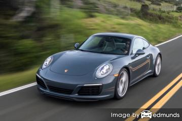 Insurance rates Porsche 911 in Raleigh