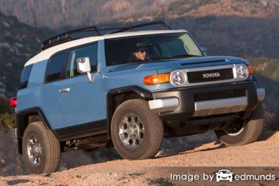 Insurance quote for Toyota FJ Cruiser in Raleigh