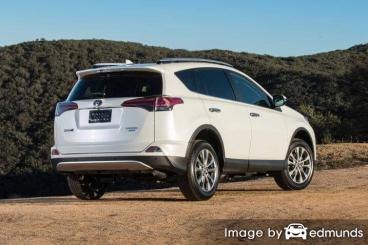 Insurance rates Toyota Rav4 in Raleigh
