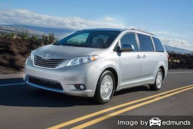 Insurance quote for Toyota Sienna in Raleigh