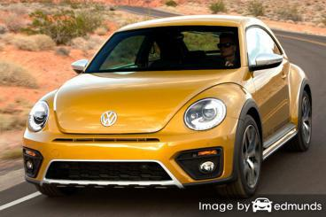 Discount Volkswagen Beetle insurance