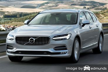Insurance rates Volvo V90 in Raleigh